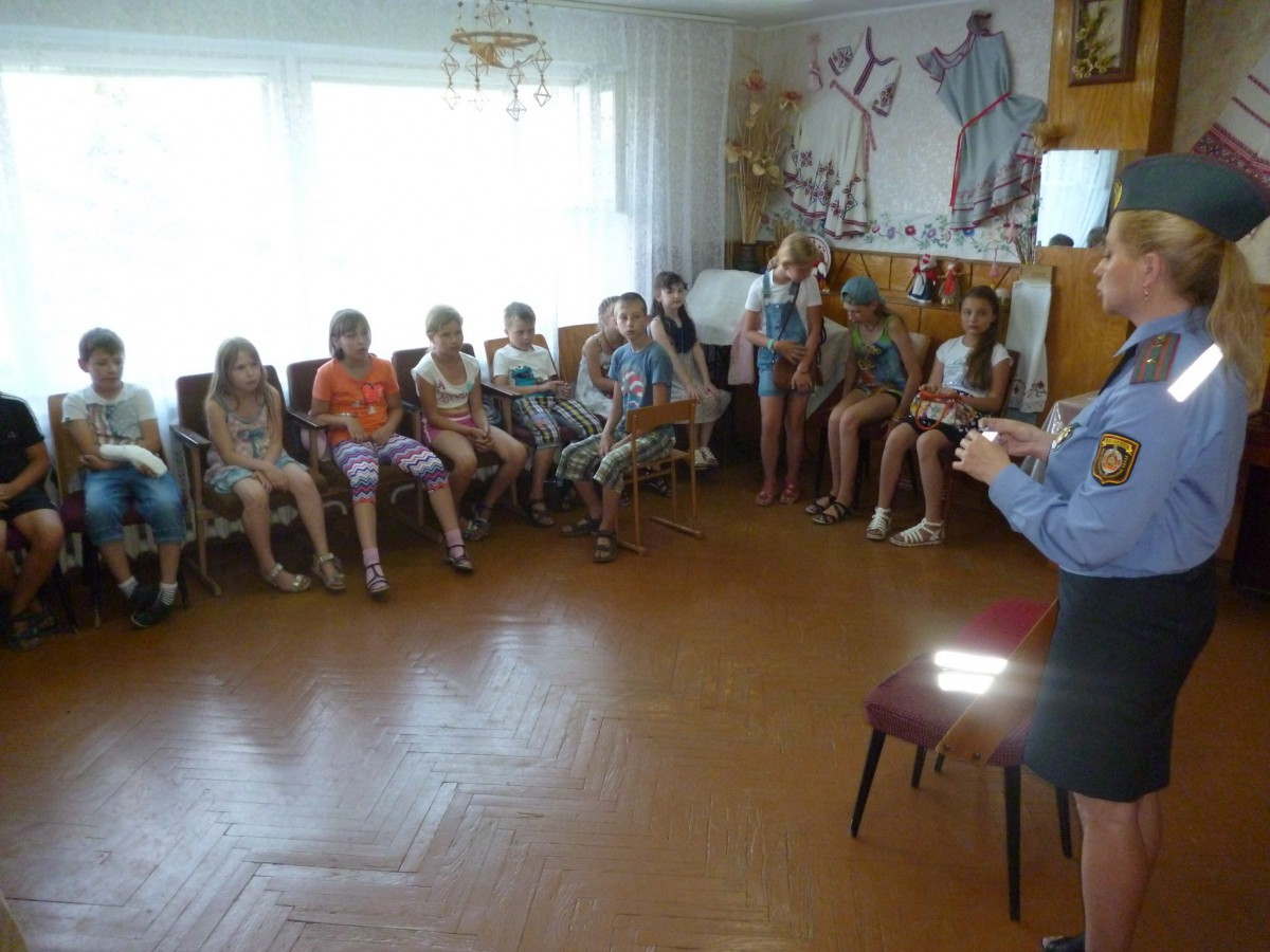 Бобруйская Госавтоинспекция проводит масштабные мероприятия по предупреждению дорожно-транспортных происшествий с участием детей в период летних школьных каникул