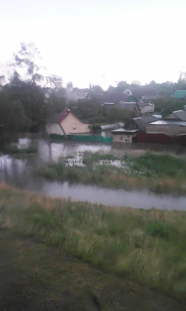 Наводнение в Бобруйске