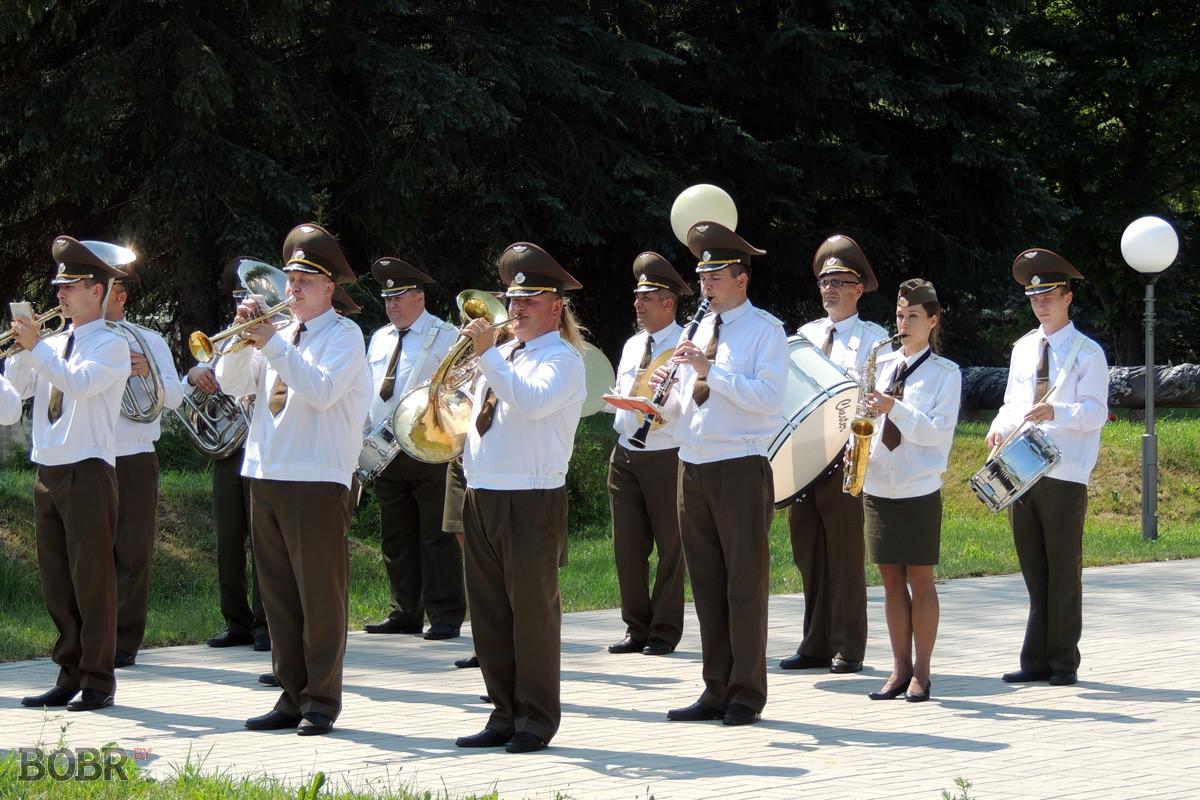 Останки 49 военнопленных перезахоронили на территории Бобруйской крепости