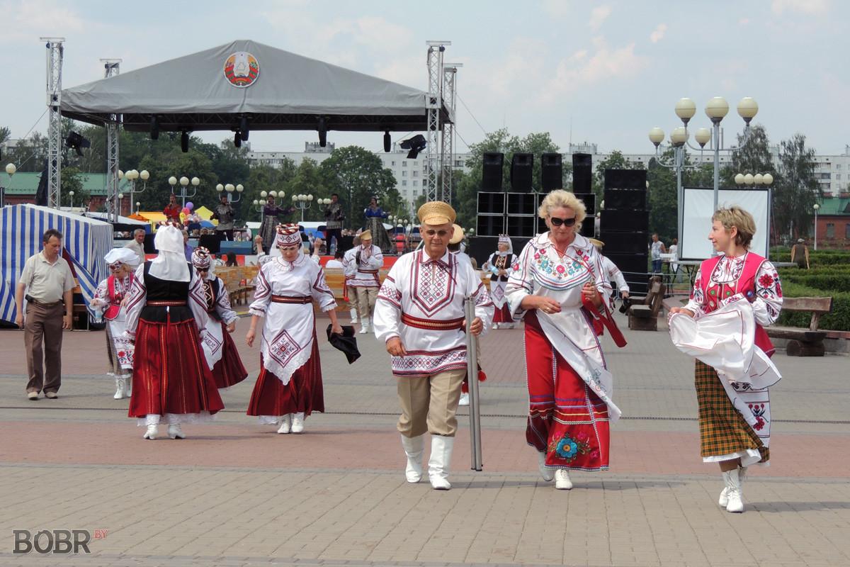 Бобруйчане празднуют День Независимости Республики Беларусь