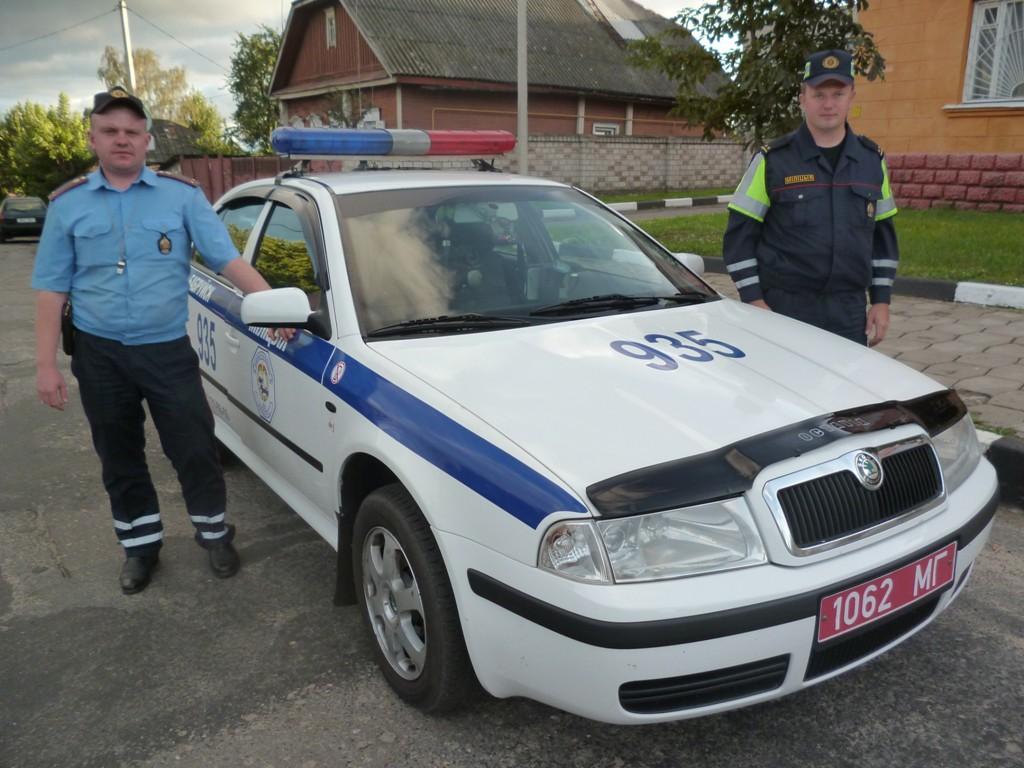 Инспекторы ГАИ Бобруйска оперативно задержали хулигана