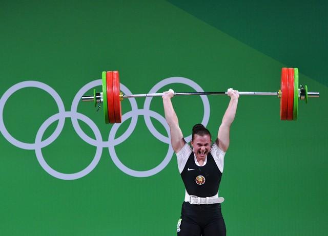 Первая белорусская медаль на Олимпийских играх у бобруйской штангистки