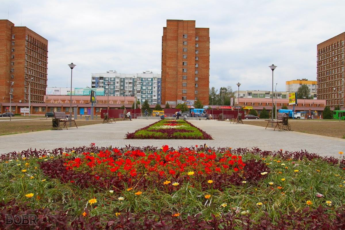Молодёжный парк приобретает свои очертания