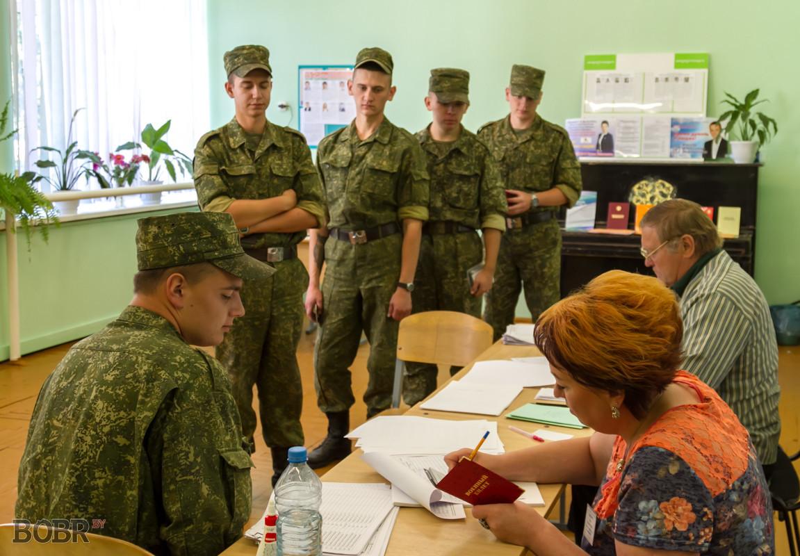 В Бобруйске продолжается досрочное голосование на парламентских выборах