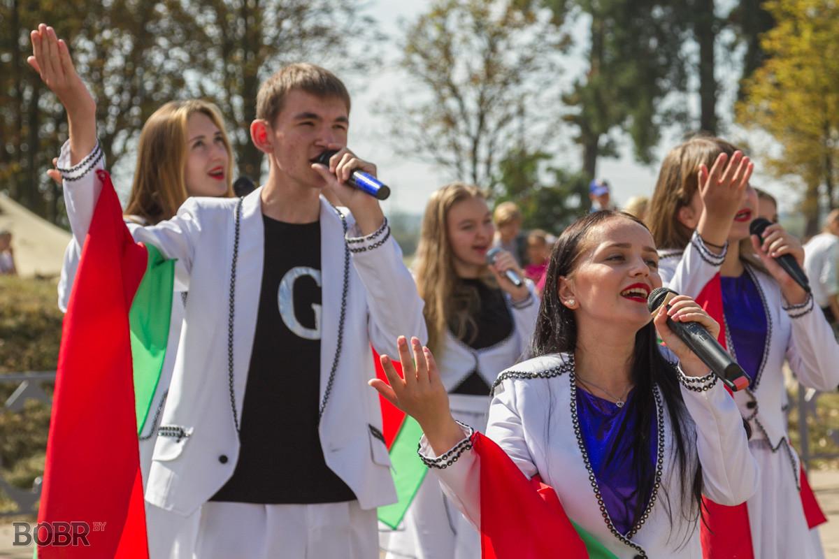 В Бобруйске отмечают День танкиста