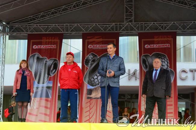 Велопарад к 45-летию со дня выпуска первой белорусской шины прошел в Бобруйске