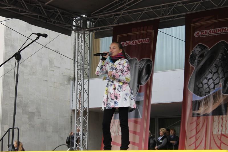 Велопарад к 45-летию со дня выпуска первой белорусской шины прошел в Бобруйске.Дополнено