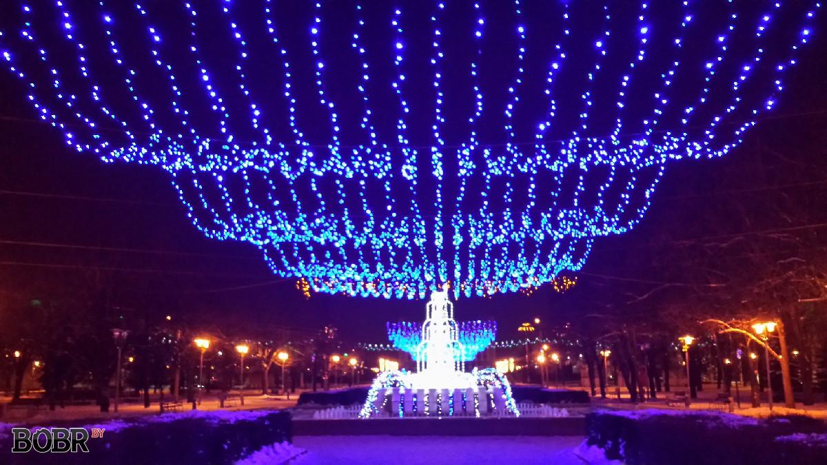 Каким будет Бобруйск под Новый год