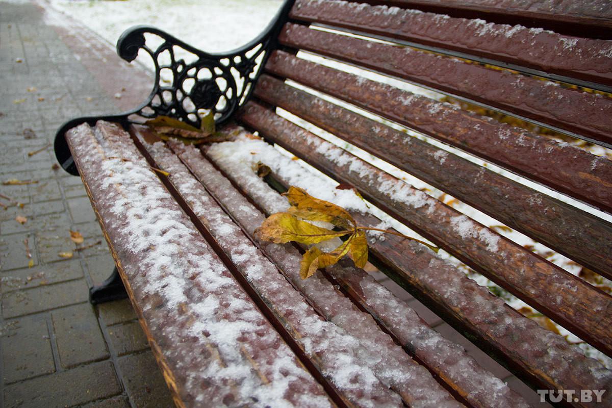 На этой неделе будет сыро и ветрено, ожидается снег, мокрый снег с дождем. На большей части страны ляжет неустойчивый снежный покров.