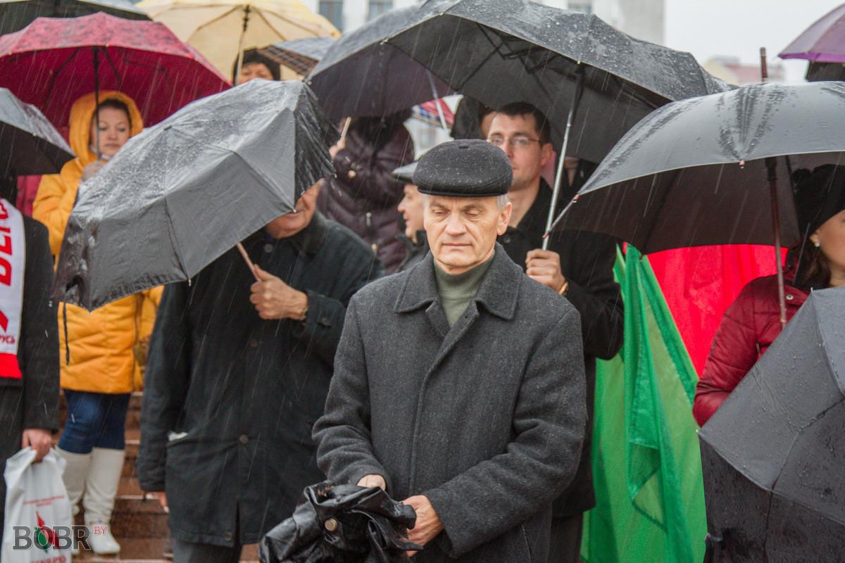 В Бобруйске празднуют День Октябрьской революции