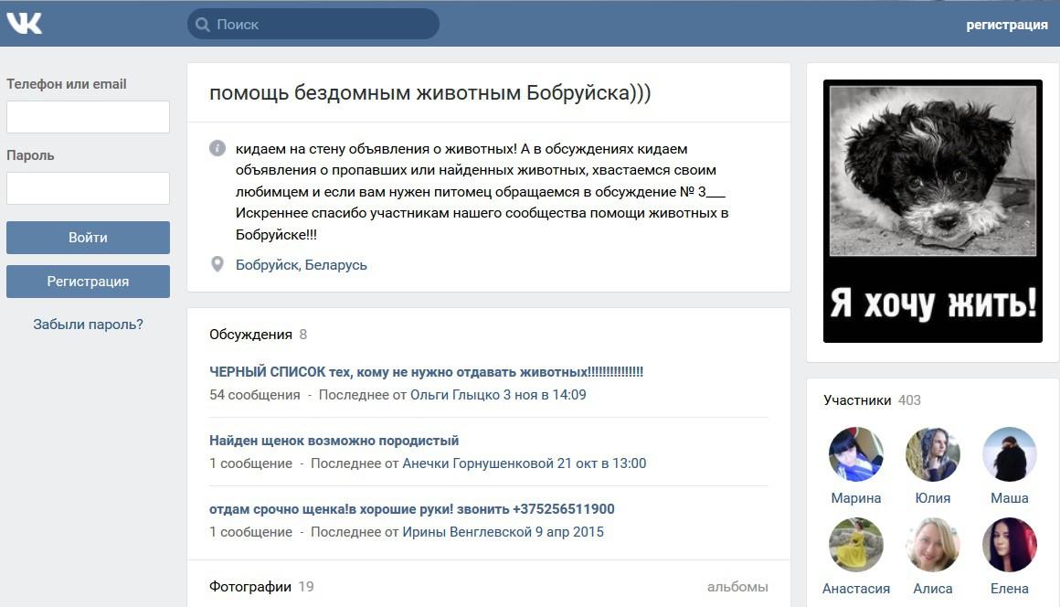 Бобруйские страсти. Зоозащитники vs. «Спецавтопредприятие»