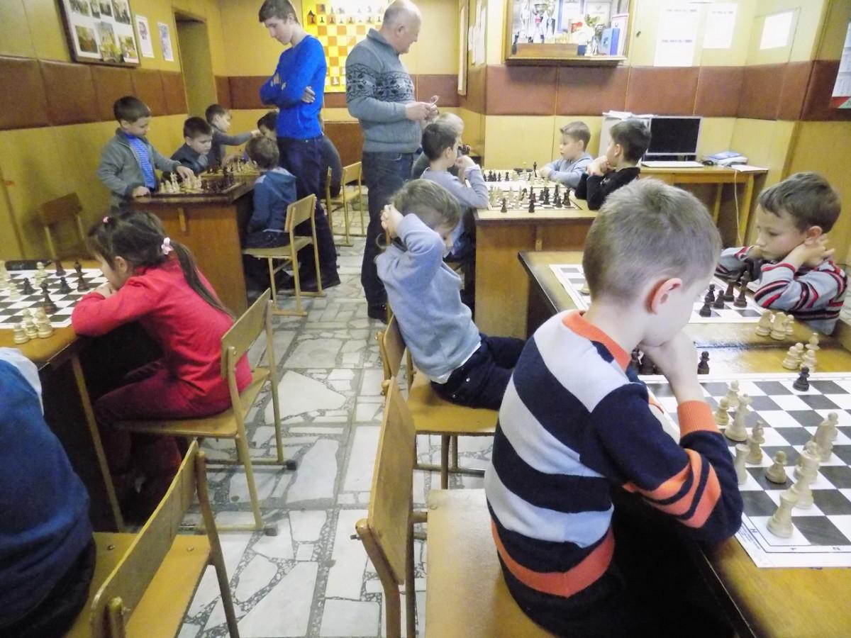 В Бобруйске провели первенство по шахматам среди детей до 10 лет