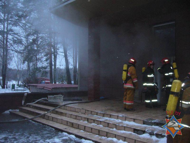 В Бобруйске из-за пожара в санатории эвакуировали 30 человек