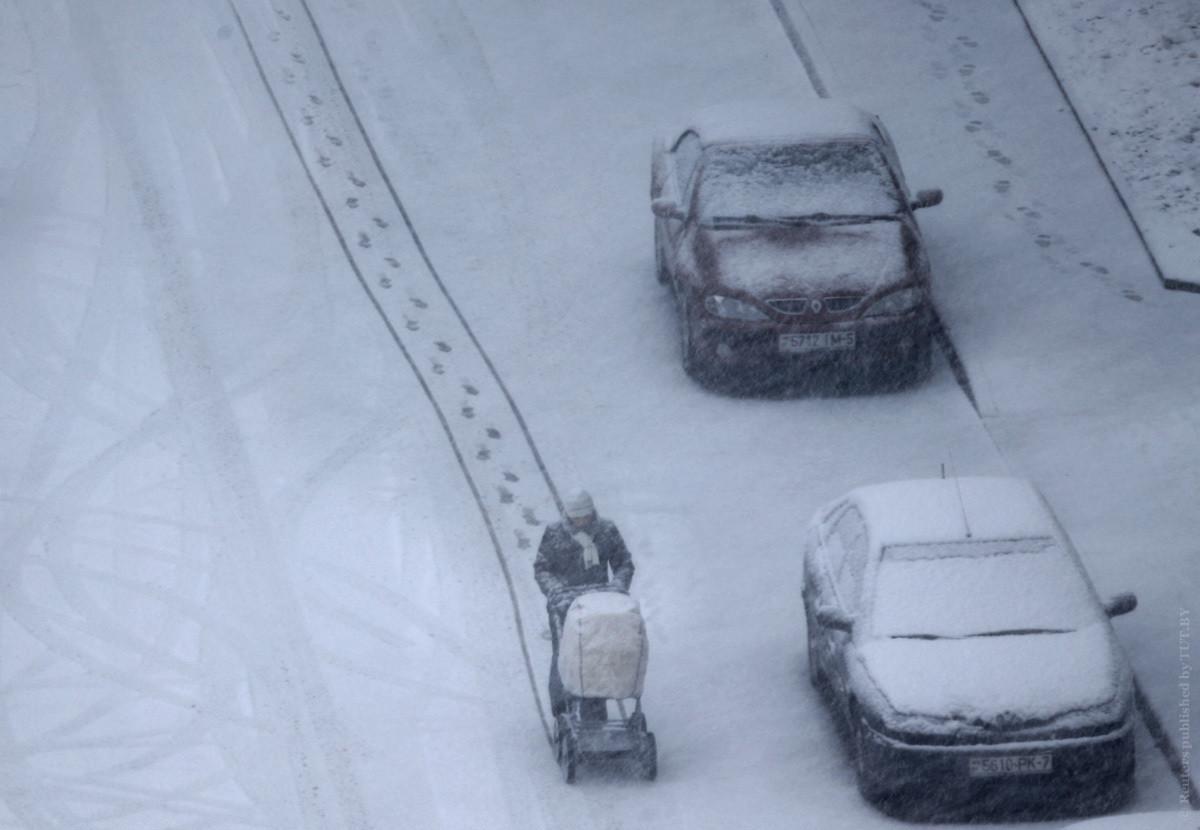 На пятницу в Беларуси объявлено штормовое предупреждение, морозы спадут лишь на следующей неделе
