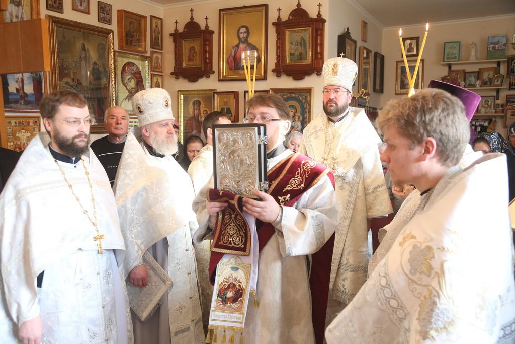 В Бобруйской епархии освящён храм