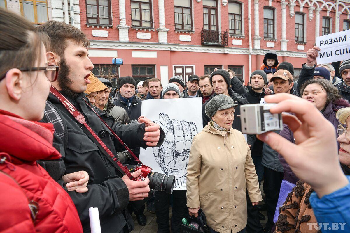 «Бобры не рабы!» Чем рассержены участники «Марша нетунеядцев» в Бобруйске