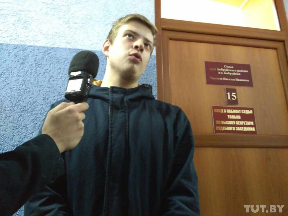 В Бобруйске проходят суды над задержанными перед «Маршем нетунеядцев»