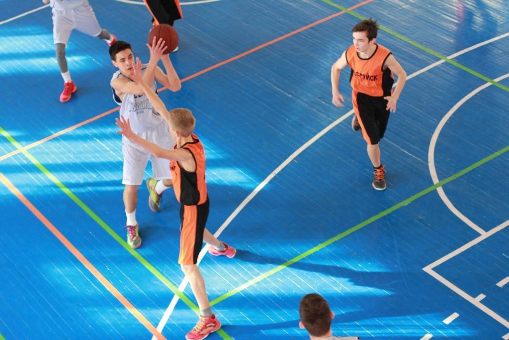 Бобруйские баскетболистки - победительницы областного первенства