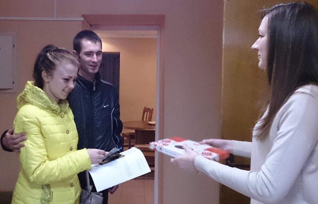 Сотый брак и сотое заявление о регистрации заключения брака
