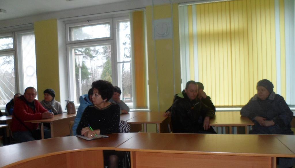 БУКДПОЖФ Первомайского района Бобруйска проводит встречи с населением