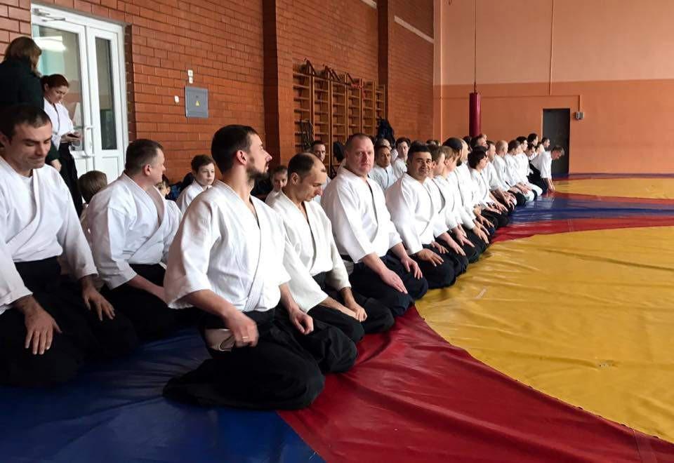 Состоялся международный учебно-аттестационный семинар по айкидо