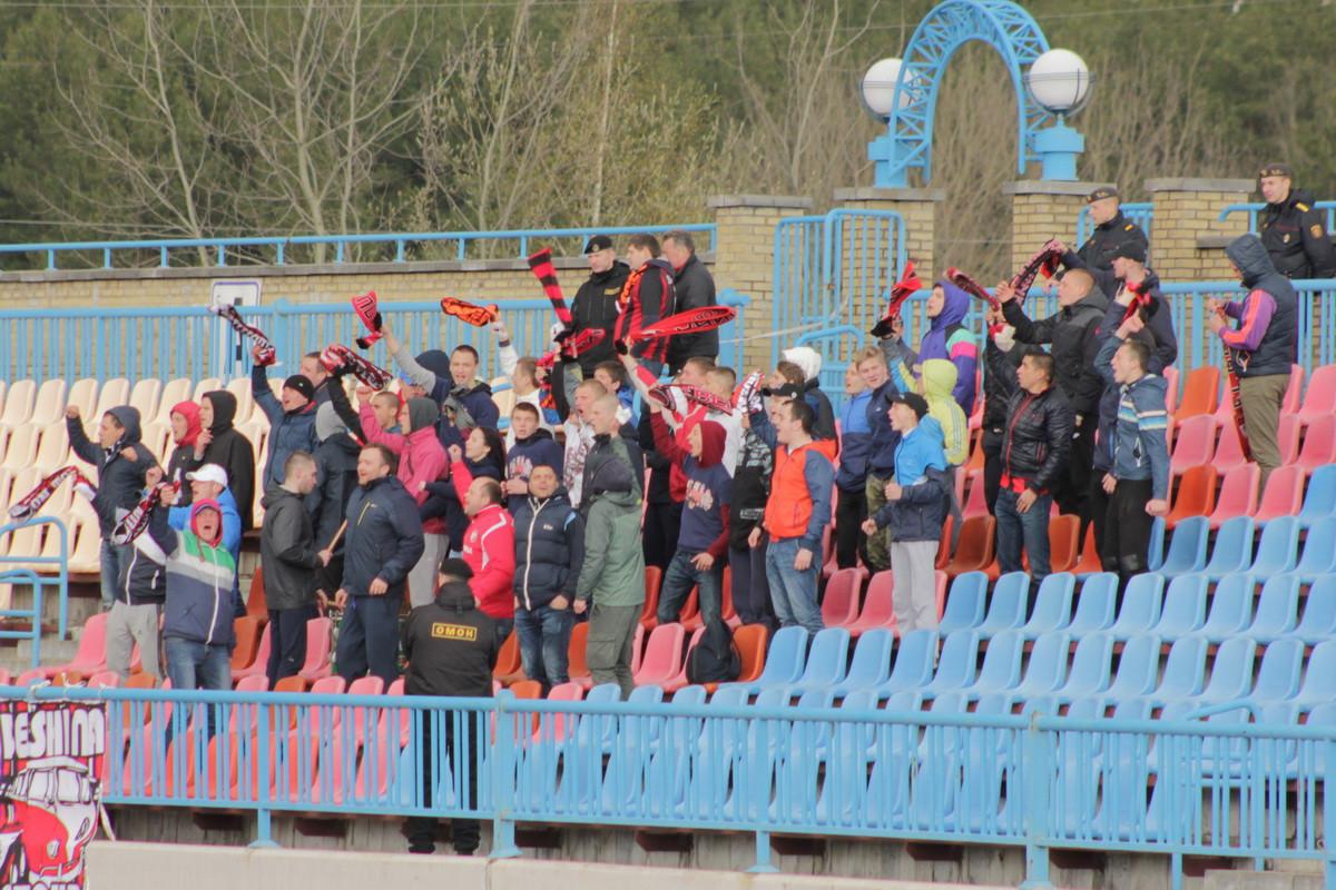 В матче второго круга ФК «Белшина» на выезде уверенно переиграл (0:2) ФК «Лида». Бобруйчане вышли на второе место в турнирной таблице.