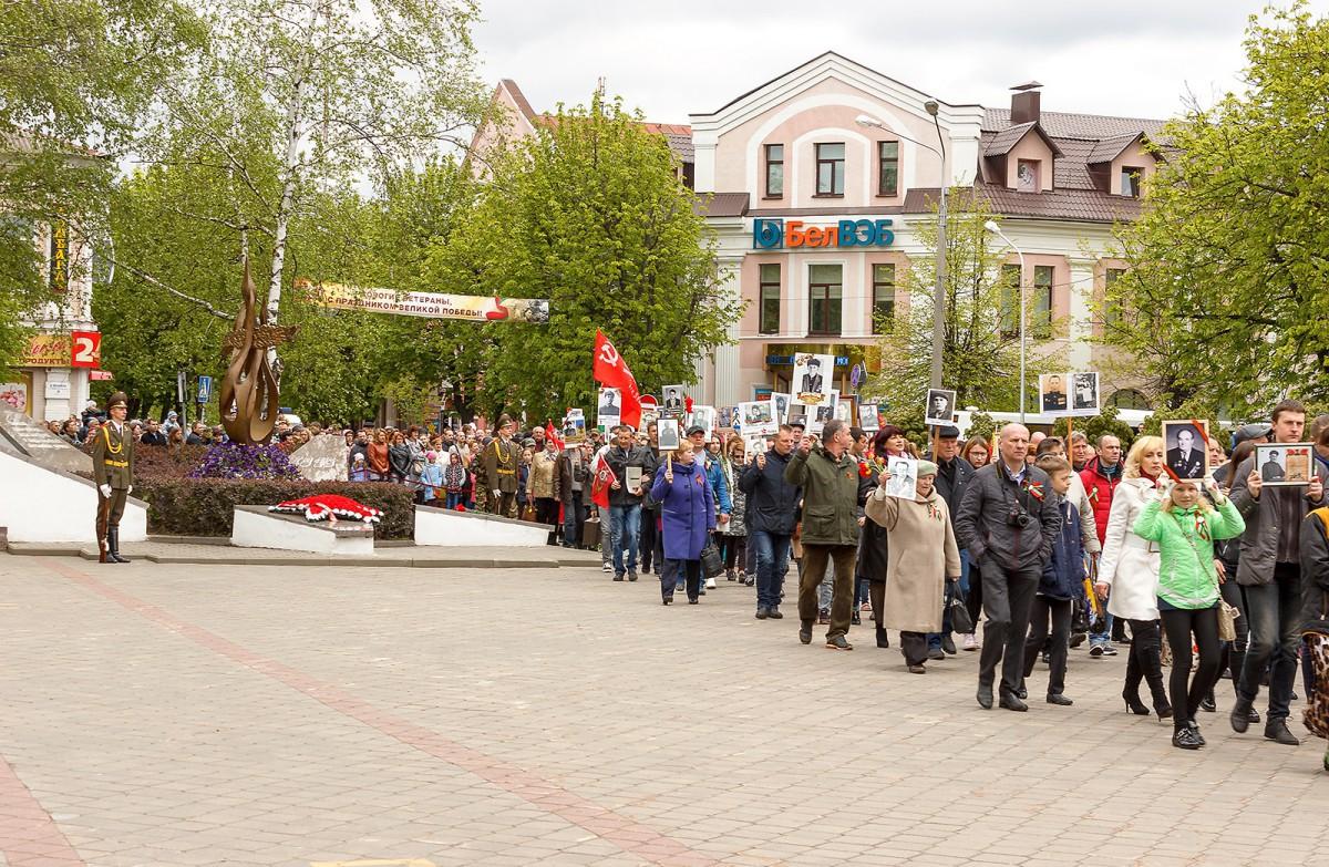 В Бобруйске 9-го мая празднуют 72-ю годовщину Победы в Великой Отечественной войне!