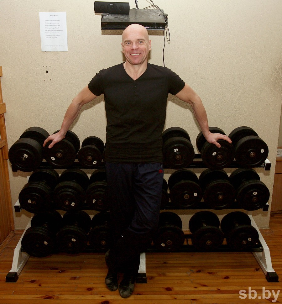 Гиревик Вячеслав ХОРОНЕКО рассказал о своих достижениях в мировой Книге рекордов Гиннесса