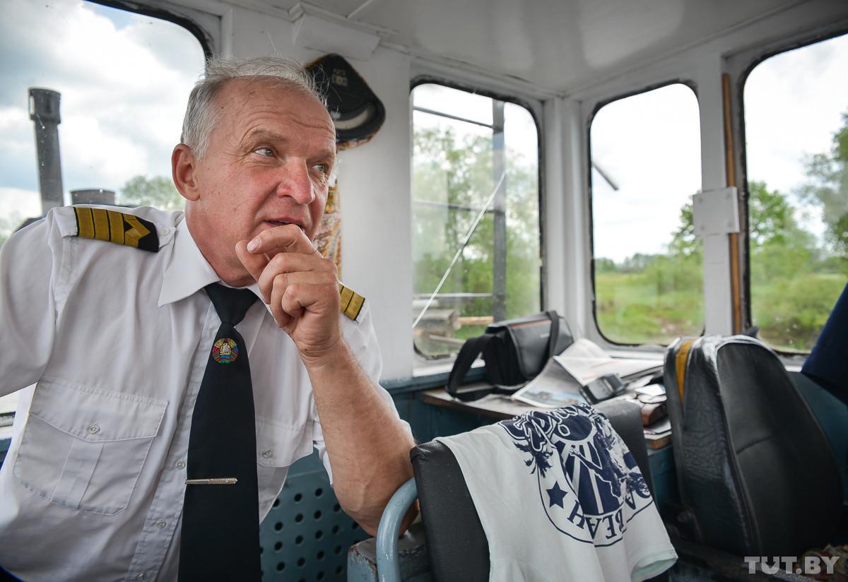 Речной гаишник знает, где именно заканчивается Бобруйск и начинается пригород