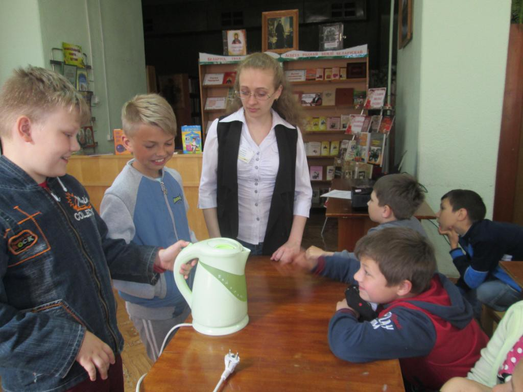 Летний марафон чтения «Детство с книгой» проходит в библиотеках Бобруйска