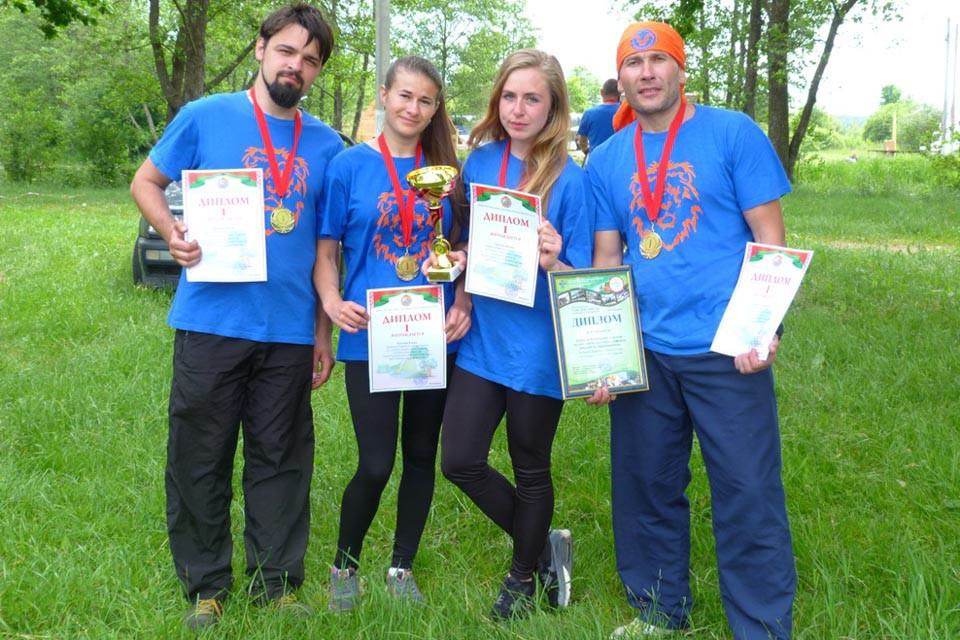 Работники здравоохранения Могилевской области взяли золото республиканского турслета