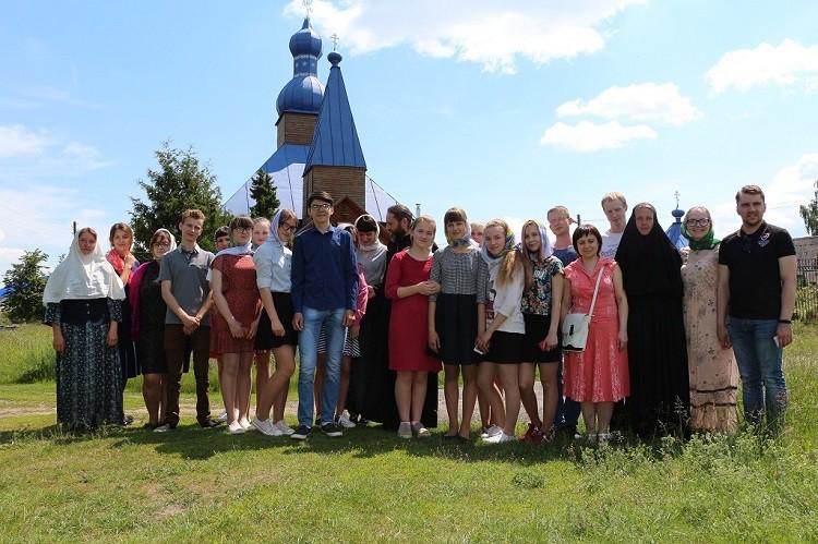 Восхитились красотой земли белорусской