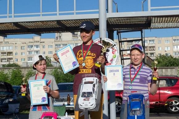 Чемпионат по автомодельному спорту прошел в Бобруйске