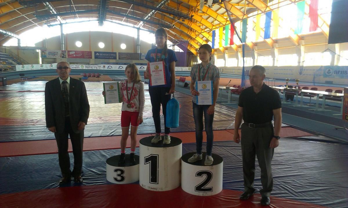 У бобруйских «вольниц» шесть медалей, три из которых высшей пробы
