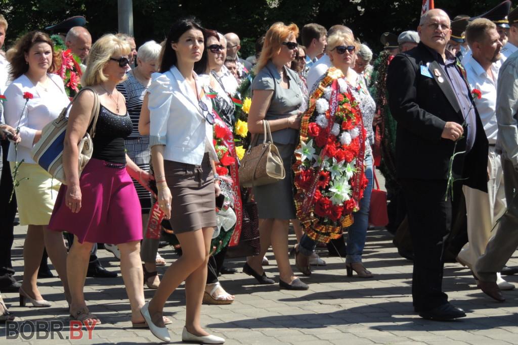 В Бобруйске прошел митинг-концерт!