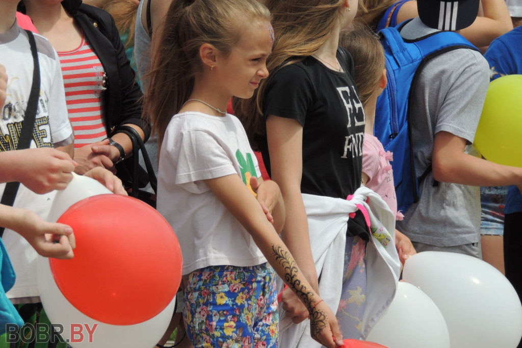 Молодежный парк торжественно открыли в Бобруйске