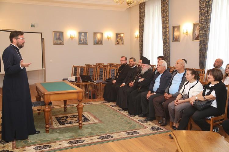 Епископ Серафим встретился с кипрской делегацией