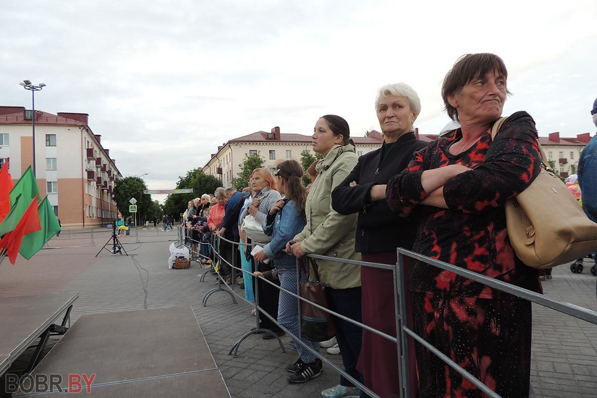 Праздничный концерт, посвященный Дню Независимости Республики Беларусь, прошел в Бобруйске