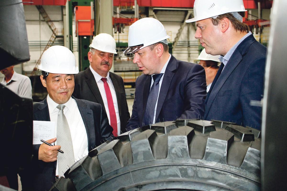 В середине текущей недели состоялся визит специалистов Представительства Всемирного банка в Республике Беларусь на «Белшину».