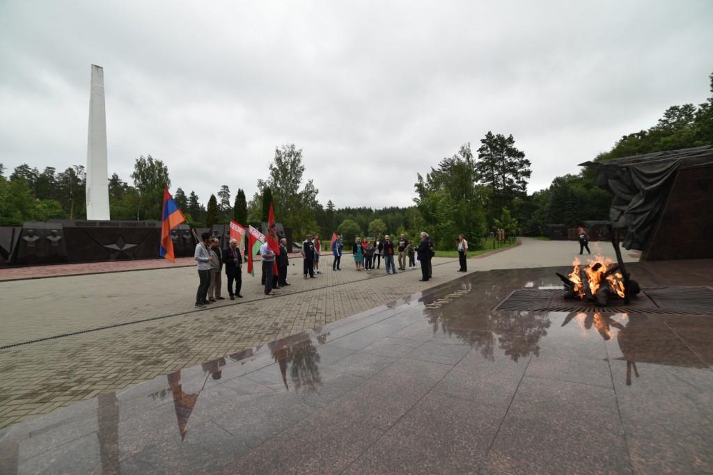 Белорусское землячество Смоленщины организовало очередной патриотический автопробег