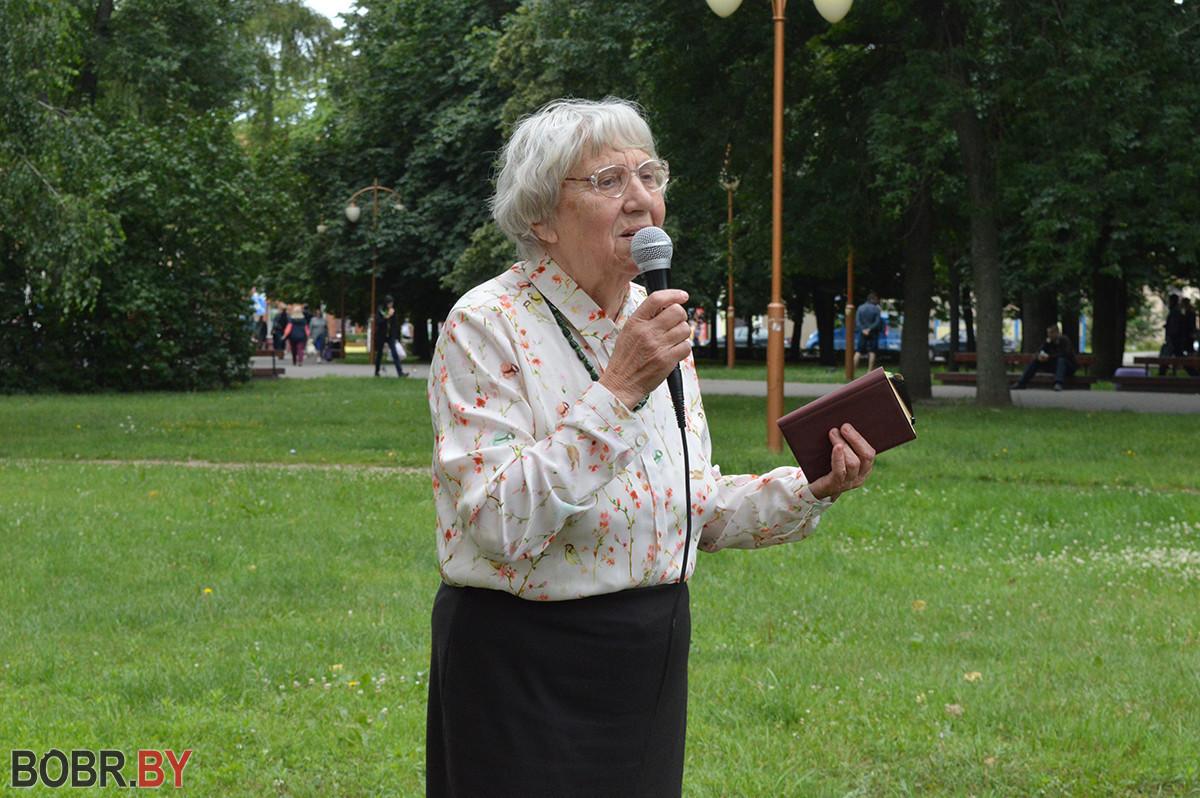 Концертную программу «Бобруйск – в стихах и песнях» мог послушать каждый желающий