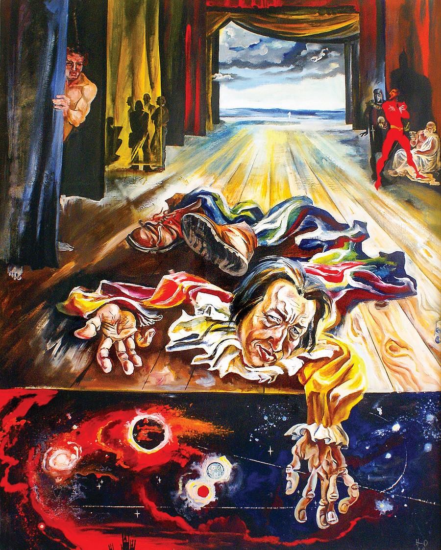 «Презумпция талантливости» — так Юрий Никифоров назвал свою теорию, считая, что художником может стать каждый.