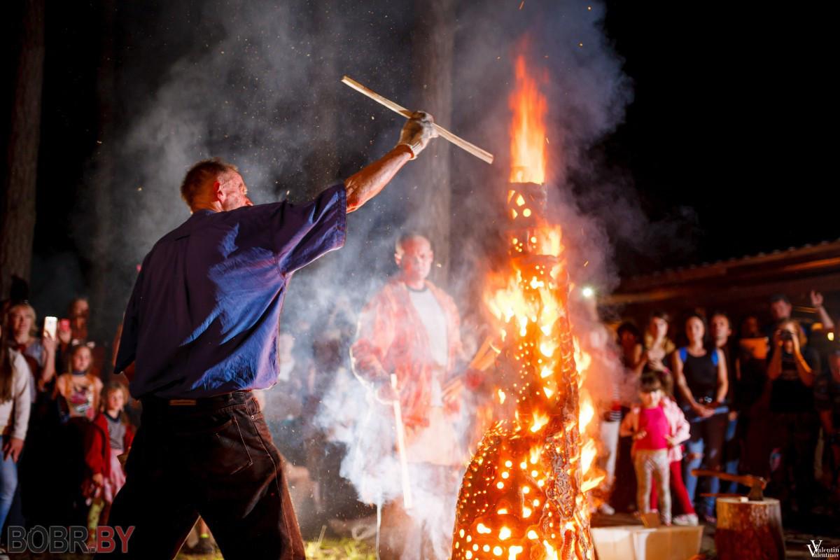 Огненным шоу завершился «Арт-Жыжаль»