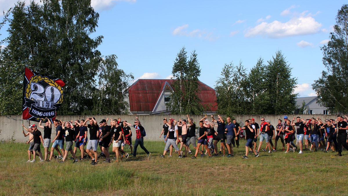В матче 16-го тура чемпионата Беларуси в первой лиге футболисты «Белшины» имели огромнейшее игровое преимущество, забили два мяча, но так и не смогли взять три очка во встрече с ФК «Осиповичи».