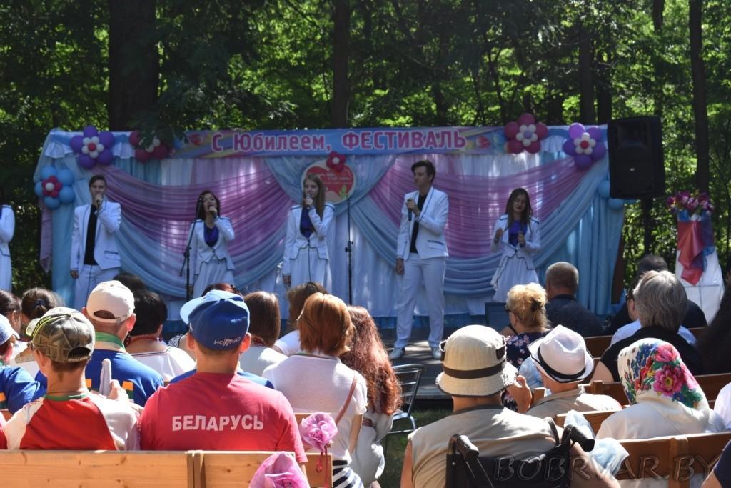 В Бобруйске проходит фестиваль «Капельки добра в море здоровья»