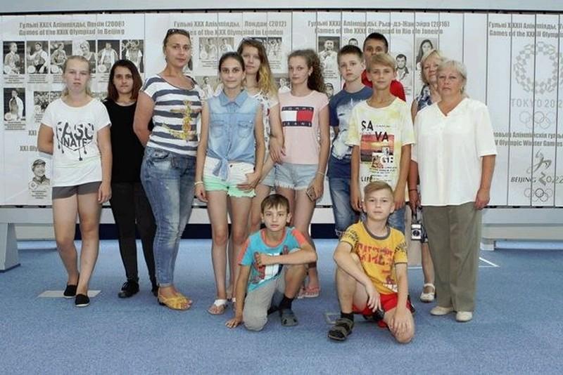 Пионеры Бобруйска в лагере «Луч добра»