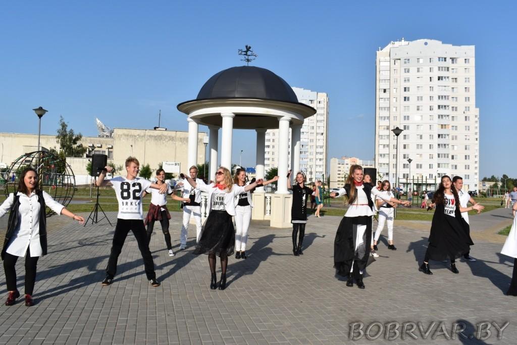 Бобруйчан своим творчеством порадовали «Росы»