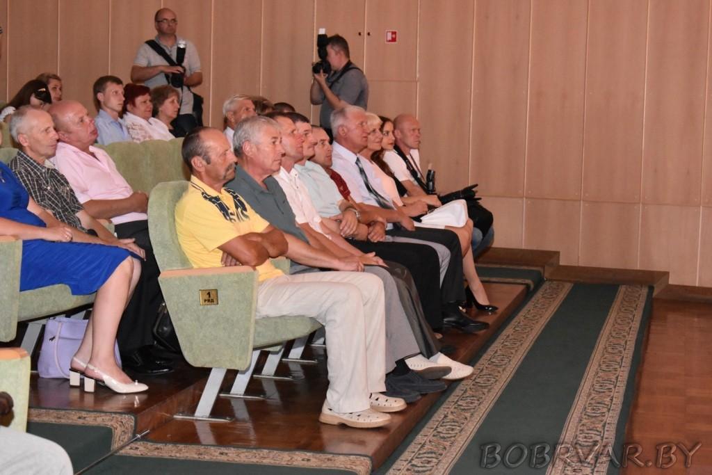 Торжественное мероприятие, посвященное Дню строителя, прошло 11 августа в УК «Могилевский областной театр драмы и комедии им. В.И.Дунина-Марцинкевича».