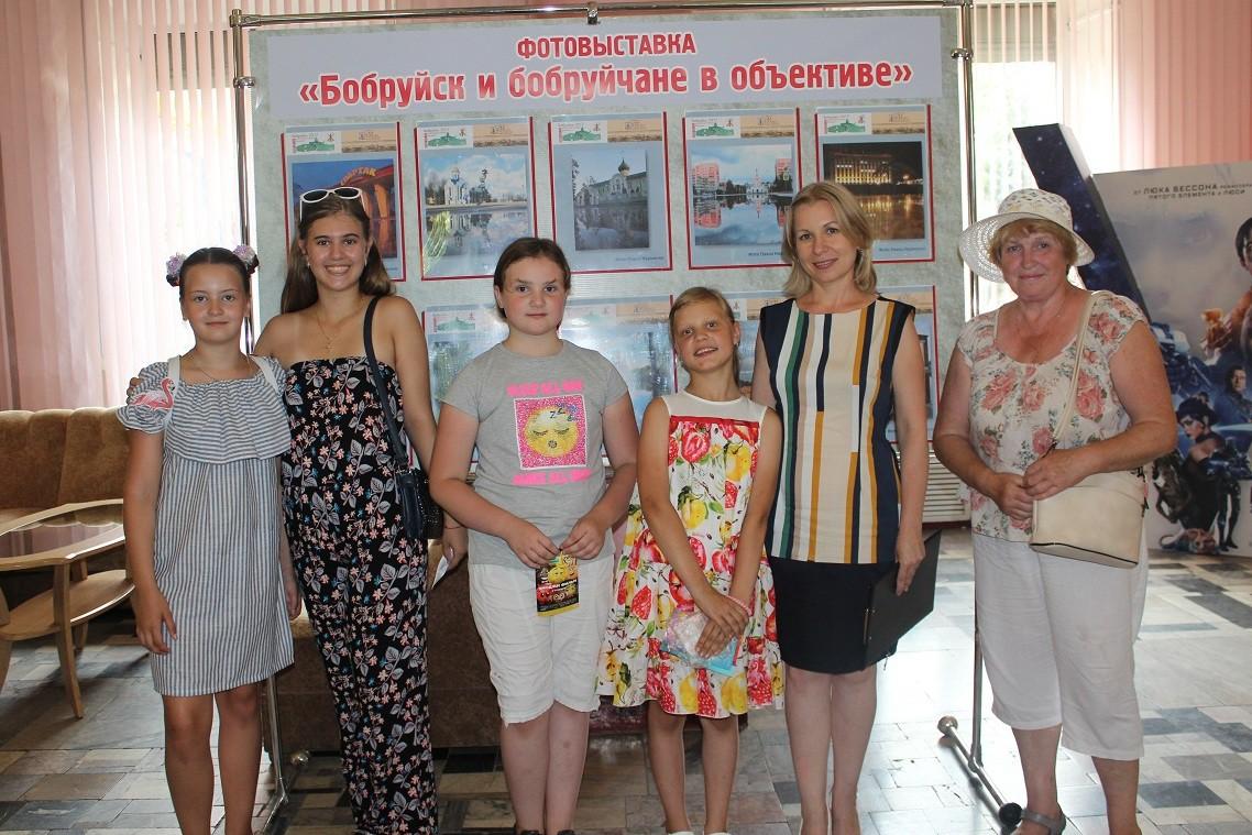 Фотовыставка «Бобруйск и бобруйчане»  открылась в кинотеатре «Товарищ»