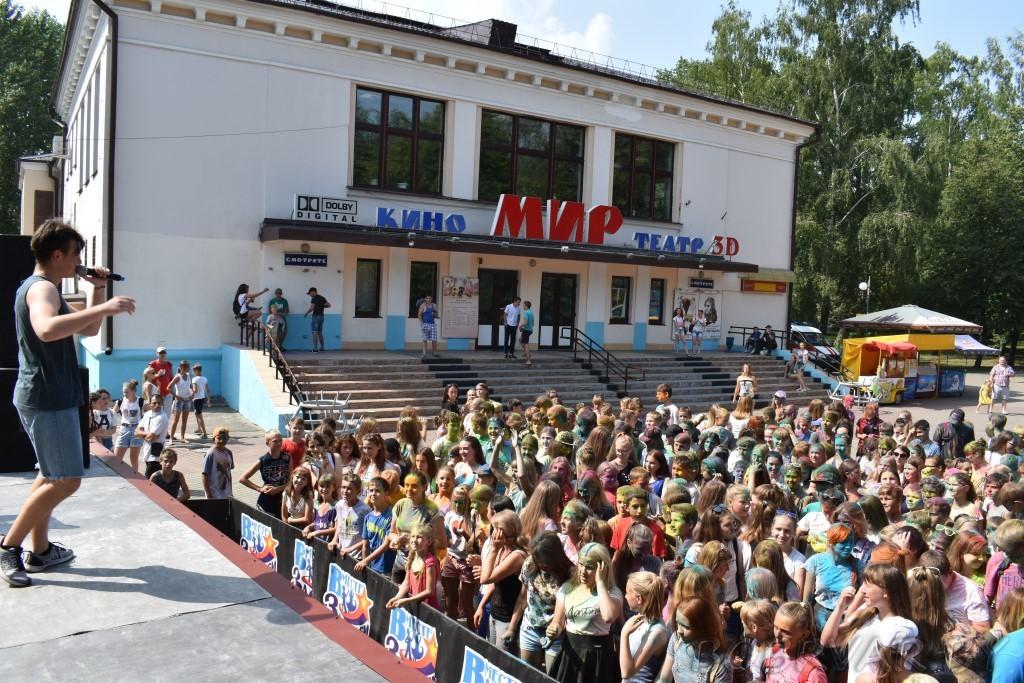 Фестиваль красок Холи «ColorFest» в Бобруйске—это круто!